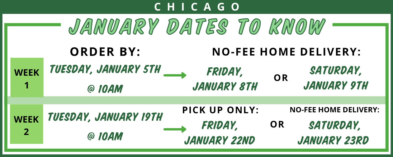 Chicago January Dates to Know