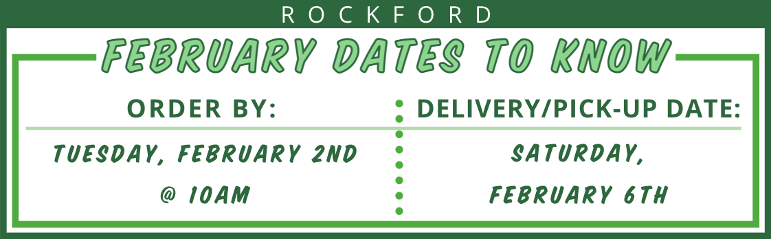 Rockford February 2021 Delivery Date