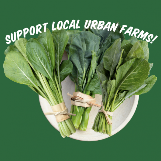 Locally Grown Produce Box - Greens